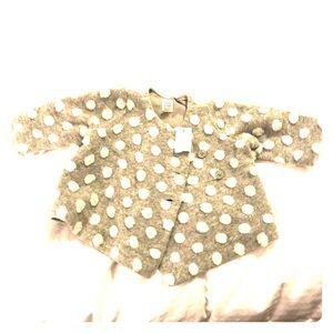 GAP Jackets & Coats - GAP polka dot jacket/poncho